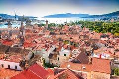 Trogir, Dalmácia, Croácia Imagens de Stock Royalty Free