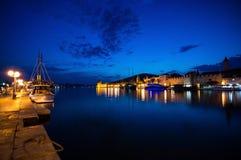 Trogir, Dalmácia, Croácia fotos de stock