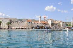 Trogir, dalmatia, croatia, europe, foreshortening Stock Photos