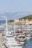 Trogir, dalmatia, croatia, europe, the view from above Royalty Free Stock Images