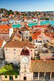 Trogir Dalmatia, Kroatien Arkivbilder