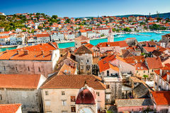 Trogir, Dalmatie, Croatie Photographie stock