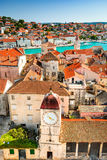 Trogir, Dalmatie, Croatie Images stock