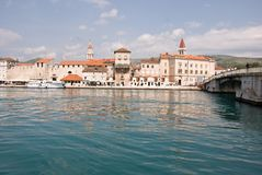 trogir de la Croatie Photos stock