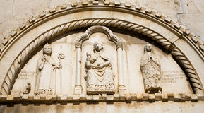 Free Trogir - Detail From Gothic Church Royalty Free Stock Image - 11343046