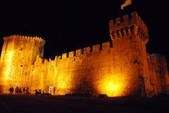 Trogir em Dalmácia, Croácia Fotos de Stock