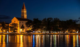 Trogir at the evening Royalty Free Stock Images