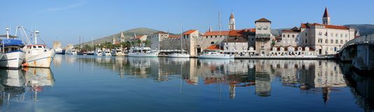 Trogir harbour Royalty Free Stock Images