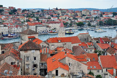 Trogir Kroatië Royalty-vrije Stock Foto