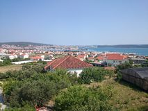 Trogir, Kroatië Stock Afbeelding