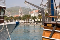 Trogir, Kroatië Royalty-vrije Stock Foto