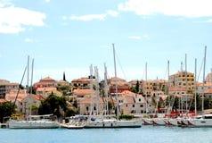 Trogir in Kroatien lizenzfreie stockbilder
