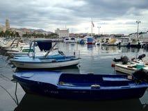 Trogir marina Royaltyfri Bild