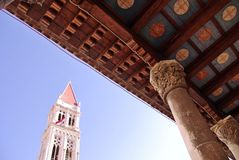 Trogir in the Mediterranean Stock Photos