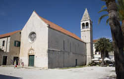 Trogir - old church Royalty Free Stock Image