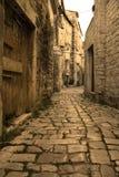 Trogir - old mediterranean aisle Royalty Free Stock Photography