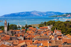 Trogir old town, Croatia Stock Photography