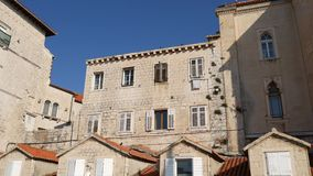 Trogir old town. Near Split, Croatia. Trogir old town. Near Split Croatia stock video footage