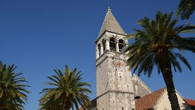 Trogir old town. Near Split, Croatia. Trogir old town. Near Split Croatia stock footage