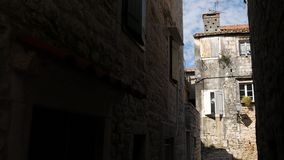 Trogir old town. Near Split, Croatia. Trogir old town. Near Split Croatia stock video