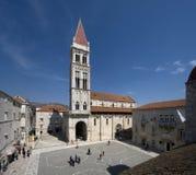 Trogir's katedra Obrazy Royalty Free