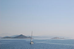Trogir/spaccatura vicino al Croatia Fotografie Stock