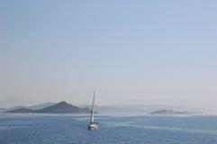 Trogir/Spalte nahe Kroatien Stockfotos