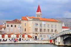 Trogir, spleet-Dalmatië Provincie, Kroatië Stock Foto's