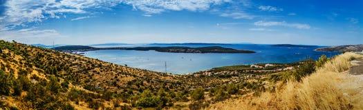 Trogir in Split-Dalmatia County, Croatia Royalty Free Stock Photos