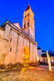 Trogir, Split, Dalmatia region of Croatia stock photography
