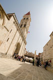 Trogir Tour Stock Photo