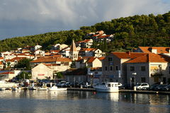 Trogir town Royalty Free Stock Photography