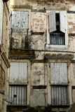 Trogir town windows Royalty Free Stock Photography