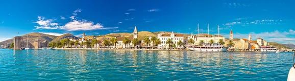 Trogir UNESCO world heritage site panoramic Royalty Free Stock Photo
