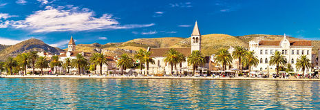 Trogir UNESCO world heritage site panoramic Stock Photo