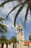 Trogir, vista bonita da cidade velha. Imagem de Stock Royalty Free