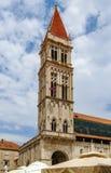 Trogirkathedraal, Kroatië stock foto