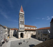 Trogir chatedral of Staint Lawrence Royalty Free Stock Images