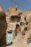 Troglodyte home, Kendovan, Iran Royalty Free Stock Photography