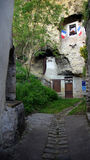 Troglodyte house in Amboise in Loire Valley Royalty Free Stock Images