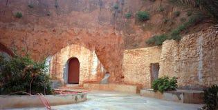 Troglodyte house, Matmata, Tunisia Royalty Free Stock Photography