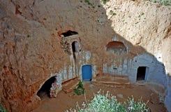 Troglodyte house, Matmata, Tunisia Stock Photo
