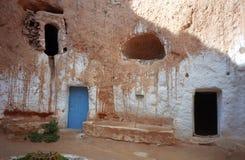 Troglodyte house, Matmata, Tunisia Royalty Free Stock Photo
