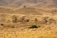 Troglodytes Berbers жилища Стоковые Изображения RF