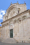 Troia Cathedral in Troia town, Apulia, Italy Royalty Free Stock Image