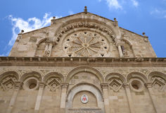 Troia Cathedral in Troia town, Apulia, Italy Royalty Free Stock Images