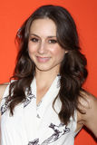 Troian Bellisario arrives at the ABC Family West Coast Upfronts Royalty Free Stock Photo