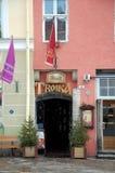 Troica russa del ristorante Fotografia Stock Libera da Diritti