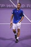 troicki viktor тенниса atp doha Стоковое Изображение RF