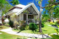Troipcal villa. Tropical beach villa with beautiful garden Royalty Free Stock Image